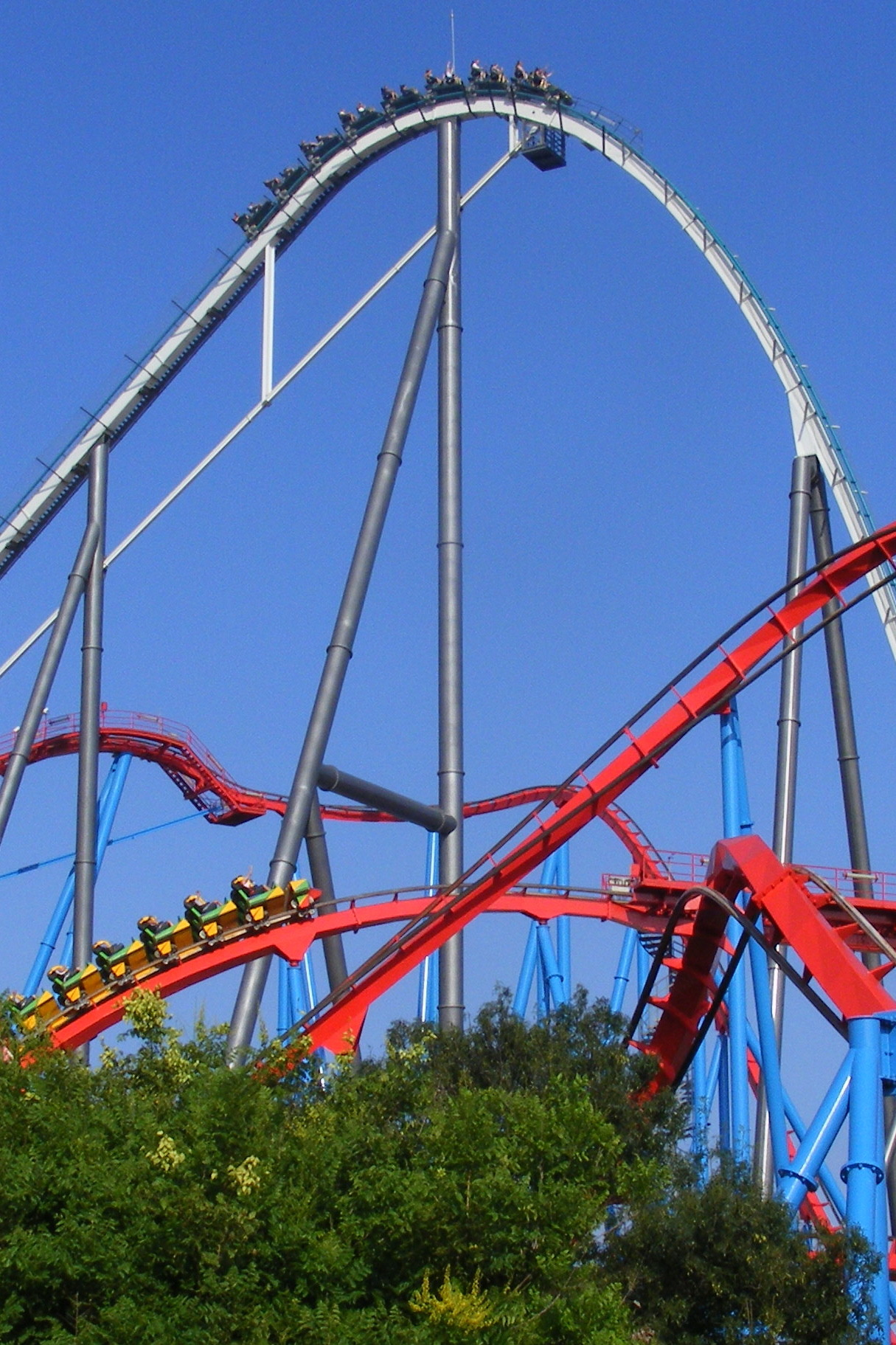 Shambhala and Dragon Khan @ PortAventura