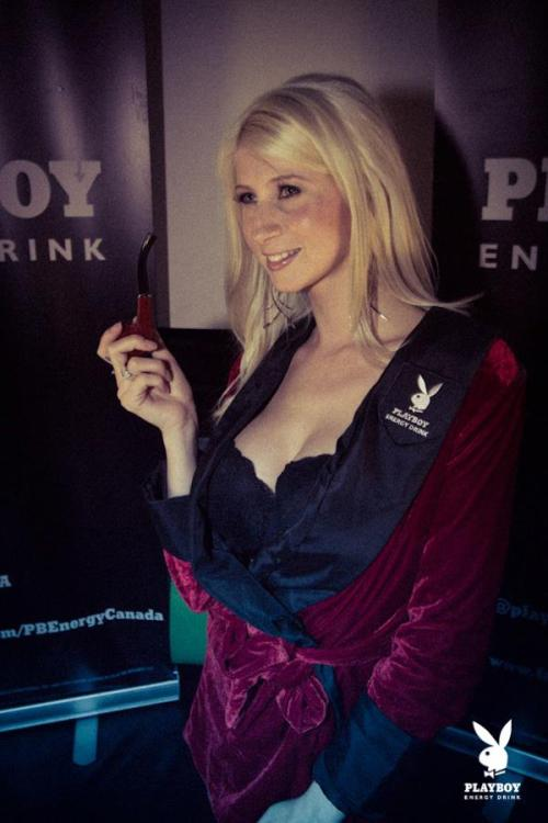 Playboy Energy Drink x Christine Mercedes / bunnies.