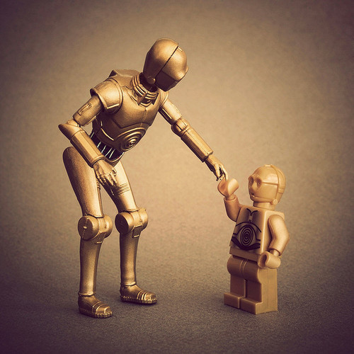 Star Wars - C-3PO and baby c-3po