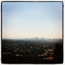 . view from the getty . #losangeles #museum #getty (Taken with Instagram)
