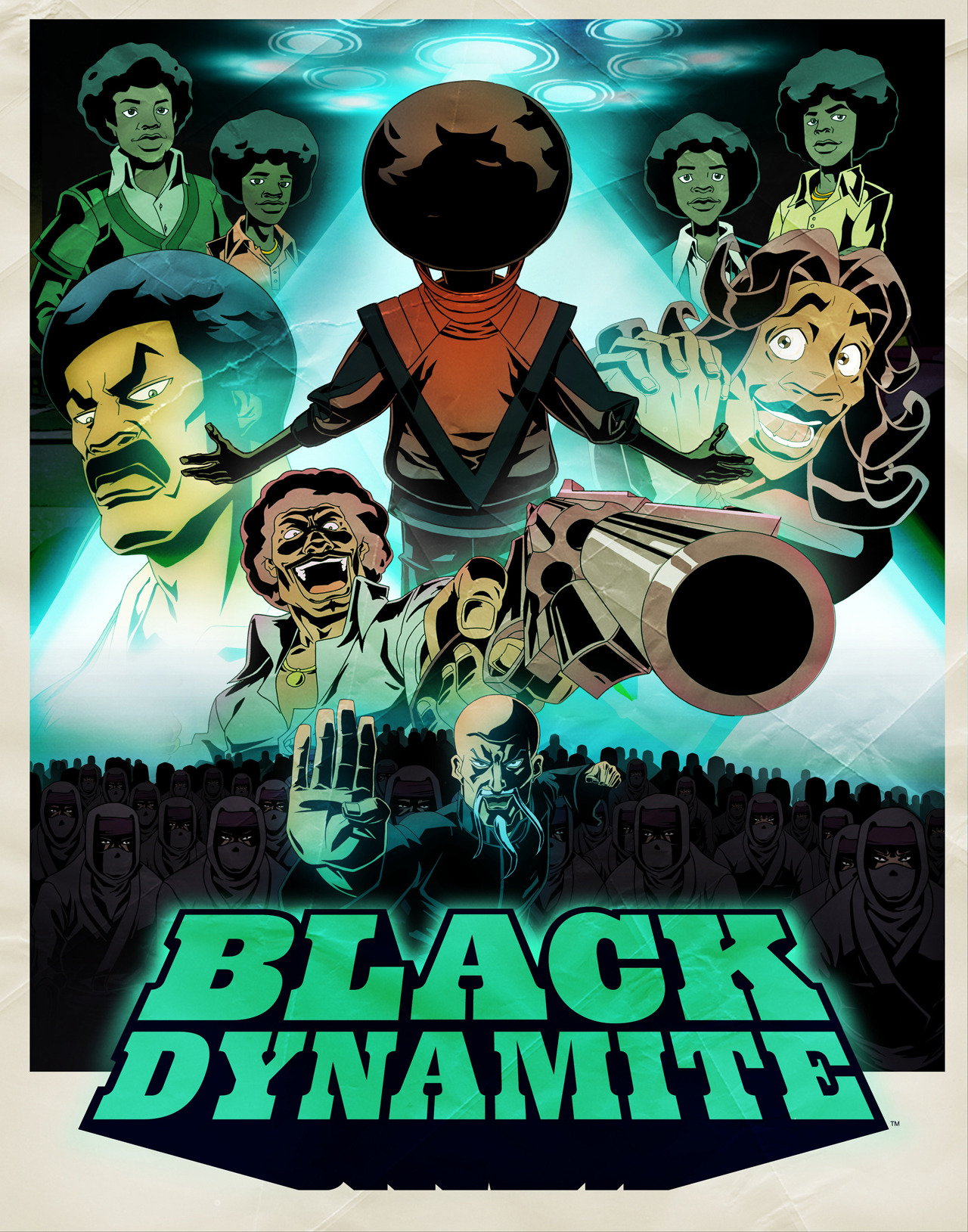 The series premiere of Black Dynamite is finally here! Watch with the world as BD takes on the King of Pop. TONIGHT at 11:30pm on Adult Swim.