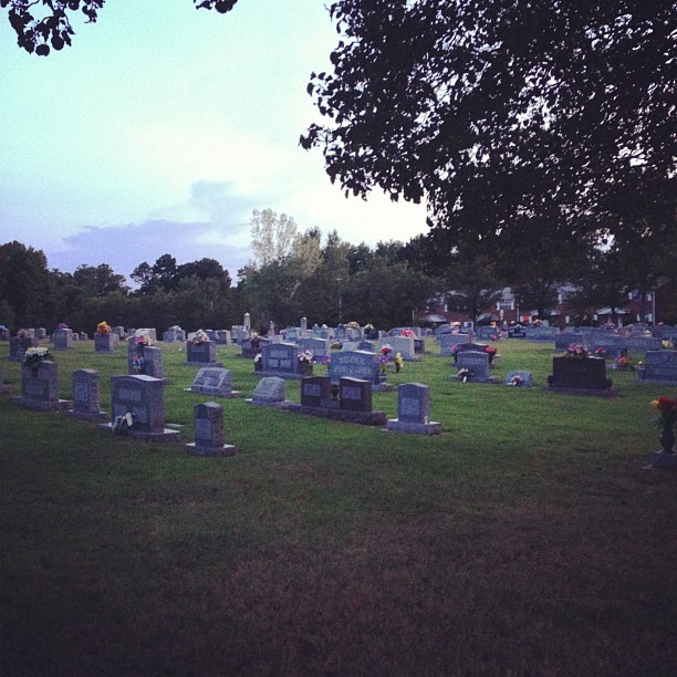 I love the graveyard. (Taken with Instagram)