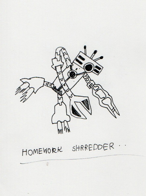 Homework Shredder