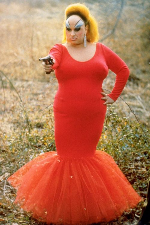 Divine in Pink Flamingos. Brilliant.