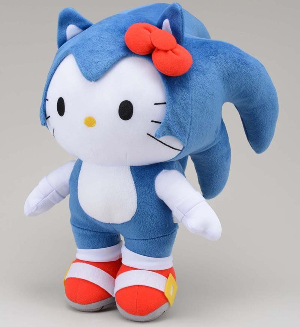 リボンねこ節操ない。(via Sonic Hello Kitty Should Sell Out Speedily)