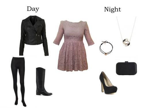 See how I've styled this dress from Jour et Nuit Online for both day and night!