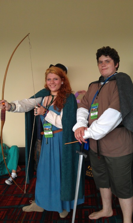 Merida and Frodo @ CTcon 2012