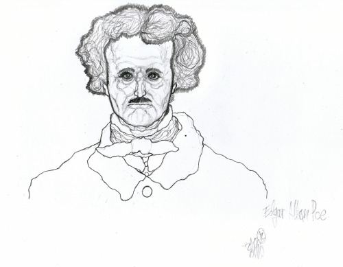 Edgar Allan Poe By Bello Kele aka Bello AG Created July 14,2012