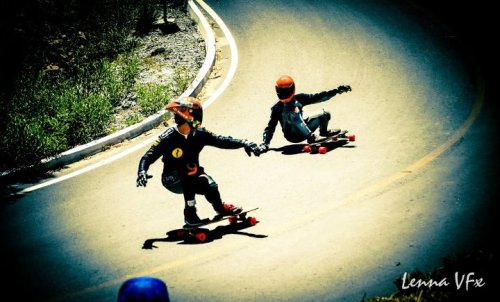 (via Longboard Fest 2012) Theres a very similar picture of Yiyo and Gerardo from last year's MLF