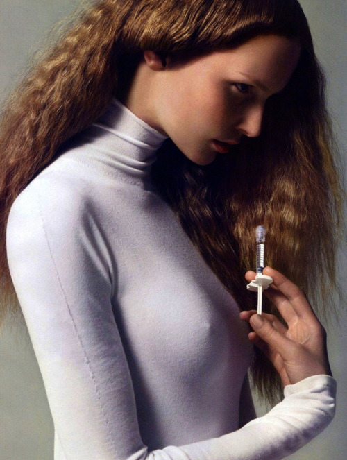 moldavia:  Katrin Thormann in Vogue Paris August 2009 by Cédric Buchet