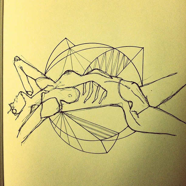 Drawing, July 2012. (Taken with Instagram)