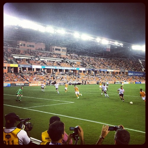 2-0 #Dynamo vs #DCUnited #soccer #mls #orange #bbva (Taken with Instagram)