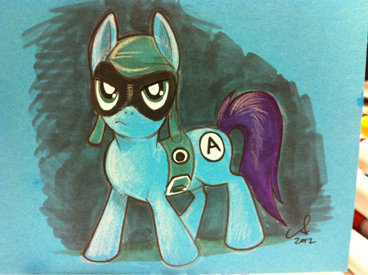 Aquabats Pony #SDCC sketch