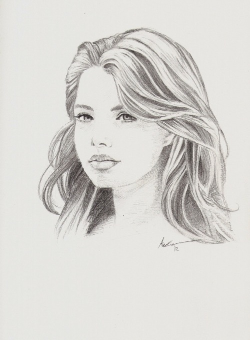 "schnoopykun:  ""Indiana Evans"" Done with H to 5b pencils. Took about 3 hours to finish."