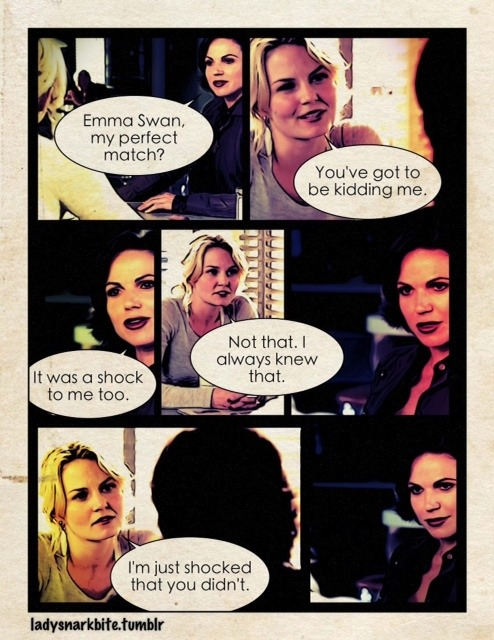 That time when Singlebrooke brought Swan Queen together.