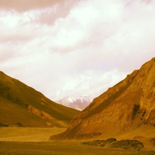 Just near the Pangong Tso Lake…. #SriniOnTour #Ladakh  (Taken with Instagram)