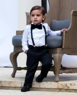 Mason Disick is going to be sexy when he grows up. Look at him omg