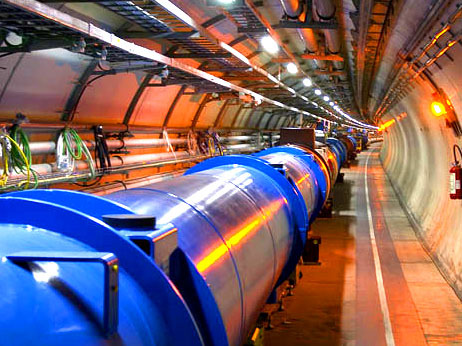 Beginning of the End for the Standard Model?     The newly discovered boson at the LHC is cause for celebration, but the particle may be the beginning of the end for the Standard Model that it is thought to complete. That is actually the hope of most particle physicists.  Although spotted at last, many properties of the new particle - thought to be the Higgs boson, or at least something similar - have yet to be tested. What's more, the telltale signature it left in the detectors at the Large Hadron Collider (LHC) does not exactly match what is predicted by the standard model of particle physics, the leading explanation for the known particles and the forces that act on them. So it is possible the new particle is something much more exotic, such as a member of a more complete model of the universe that includes the mysterious entities of dark matter and gravity. That would end the standard model's supremacy, but it would also be a cause for even greater celebration than the discovery of the Higgs itself.  Read article here»