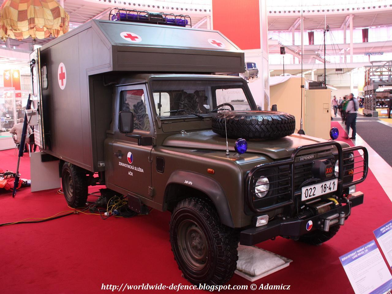 #LandRover Ambulance Adaptation - Czech Republic