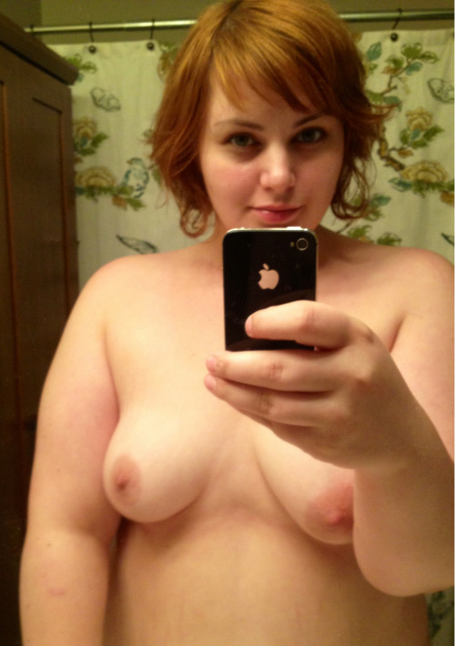 fat-and-naked:  You know… In case you missed seeing mirror shots.