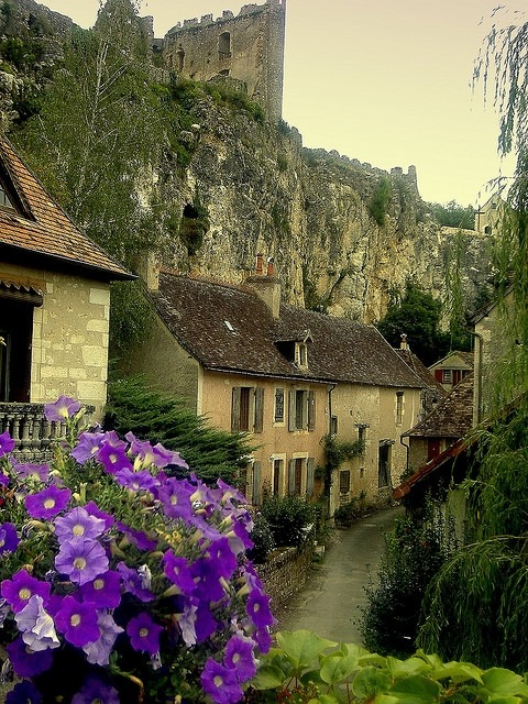 bluepueblo:  Ancient Village, Poitou-Charentes, France. photo via jane