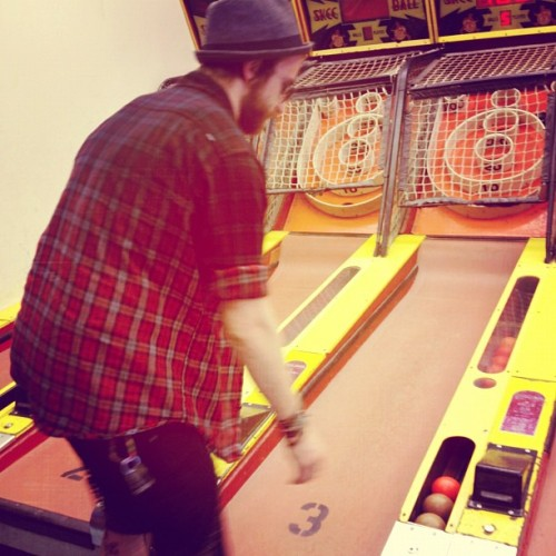 paramore:  Skee ball on the pier #pimp