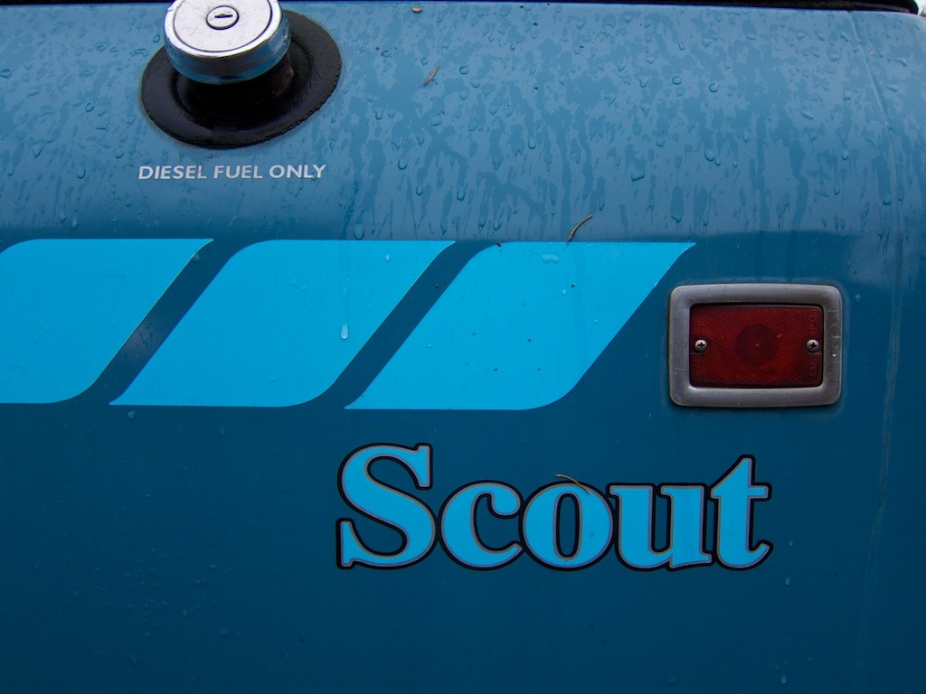 International Harvester Scout #Logo + #Diesel