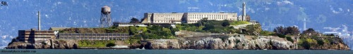 United States Penitentiary, Alcatraz Island, San Francisco Bay, San Francisco California  I would lock somebody in a cell and then laugh as I walked away.