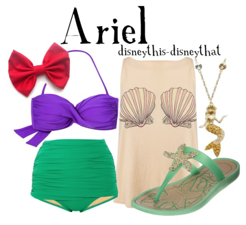 disneythis-disneythat:  Ariel