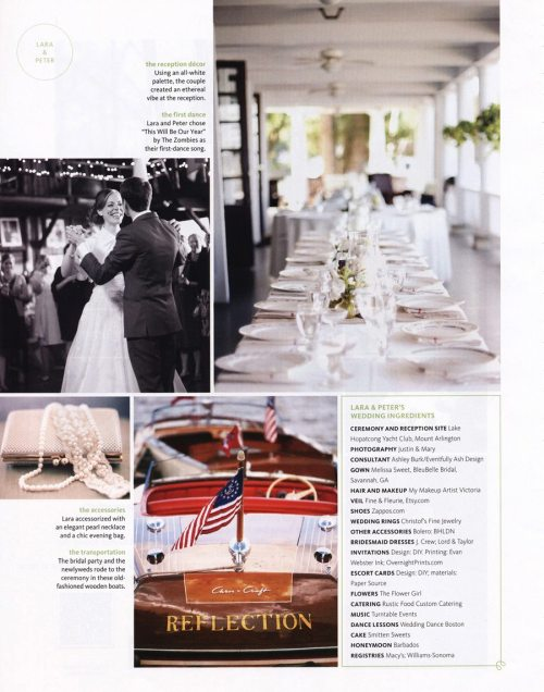 Eventfully Ash Design's first wedding, featured in The Knot!See: Consultant ;)