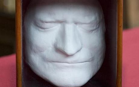 Sir Issac Newton: Death mask: 1727. What did Newton contribute? Really? Oh, Calculus and gravity (f=G[M(sub1)M(sub2)]/r^2) and fundamental laws of physics (f=ma).
