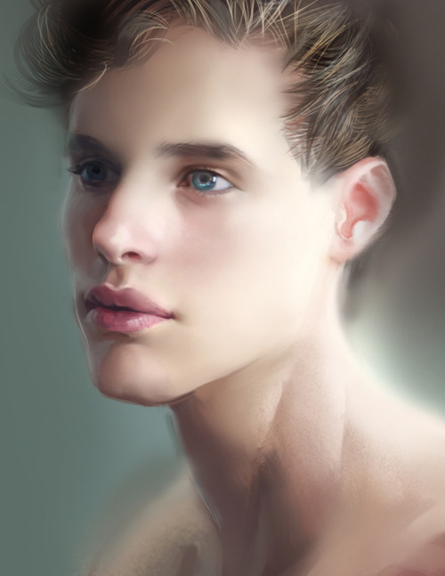 study of The image at the bottom , by Homotography.