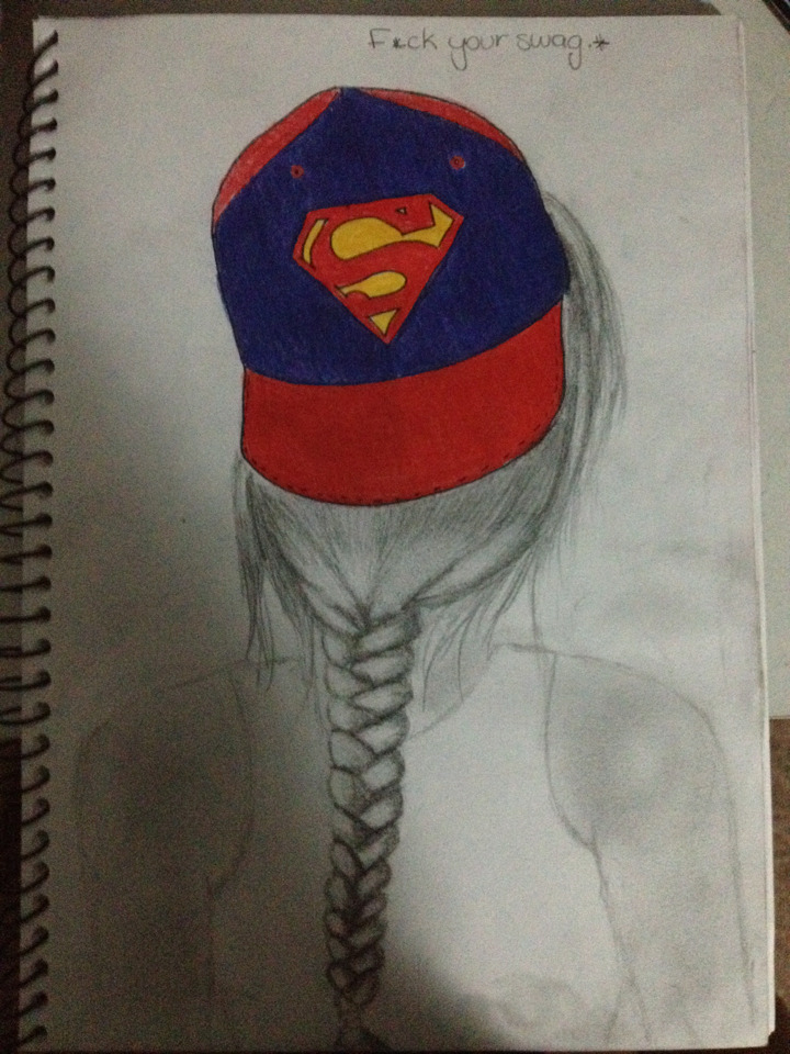 fu-k-your-swag:  I drew this. :)  www.f-uk-your-swag.tumblr.comFollow my best friend she drew this shit ;)