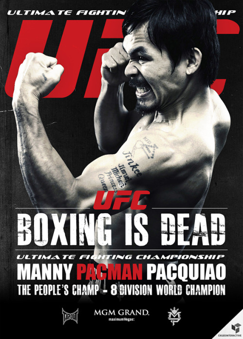 WHOA. PACMAN to the UFC?  hnl2lax:  the next UFC feather weight contender…!