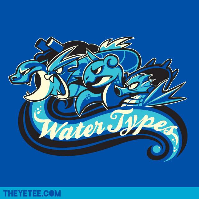 WaterTypes - Kari Fry