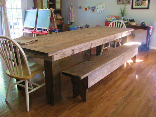 my new table by seamsoflife on Flickr.
