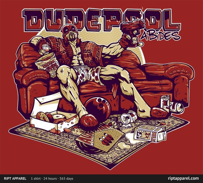 gamefreaksnz:  Dudepool by Coddesigns Follow the artist on Tumblr