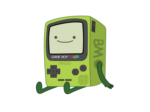 bluedogeyes:  Nintendo BMO by R3D-X7 Shirt available on Redbubble