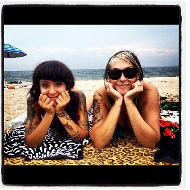 Beach buds (Taken with Instagram)