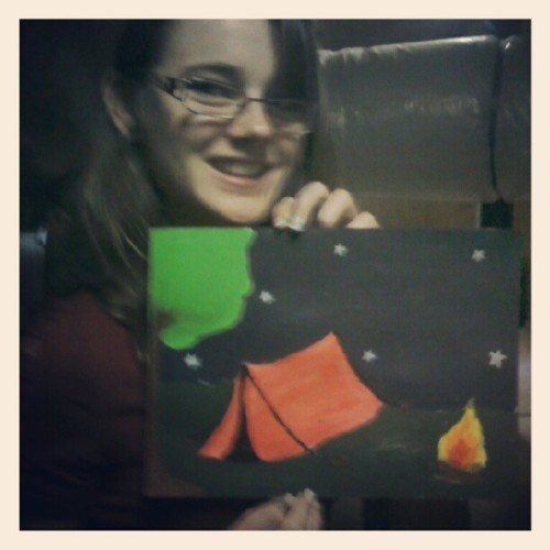 Made our aiming high thing with @sam_learmont  (Taken with Instagram)