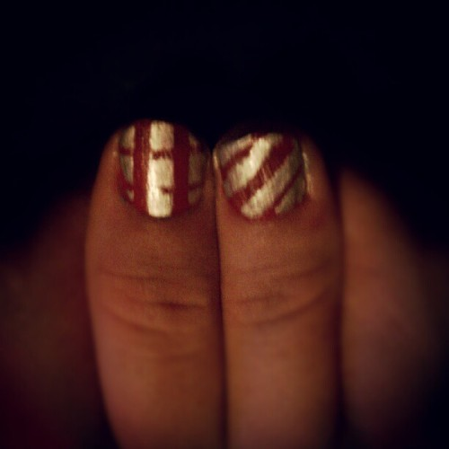 Yayyy finally got it:) #nailart #nailpolish  (Taken with Instagram)
