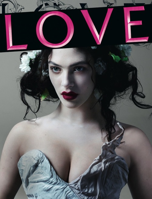 suicideblonde:  bohemea:  Jessica Brown-Findlay - Love #8 by Mert & Marcus, Fall/Winter 2012-13