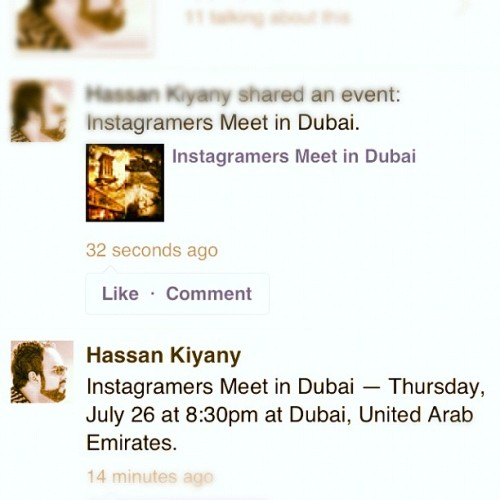 Finally #Instagramers meet up in #dubai #igersdubai #iphoneography #mobilephotography #photowalk (Taken with Instagram)