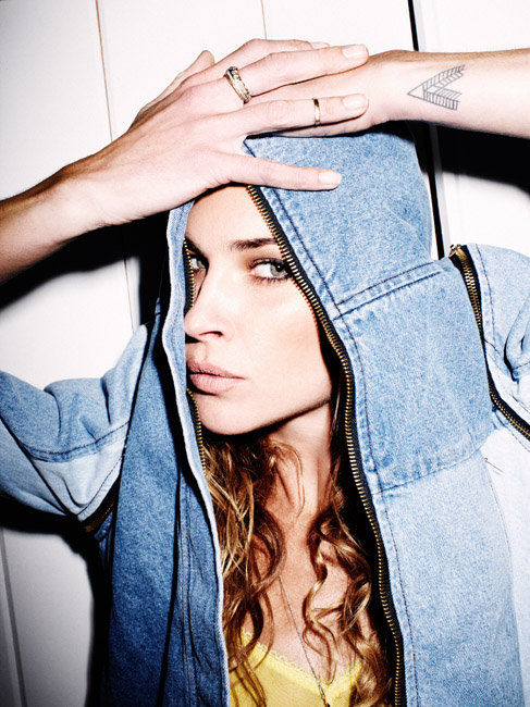oystermag:  Erin Wasson x Ben Sullivan x One Teaspoon