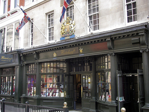 amandaonwriting:  Hatchards - The oldest bookshop in London  (1797) 187 Piccadilly, London, W1J 9LE