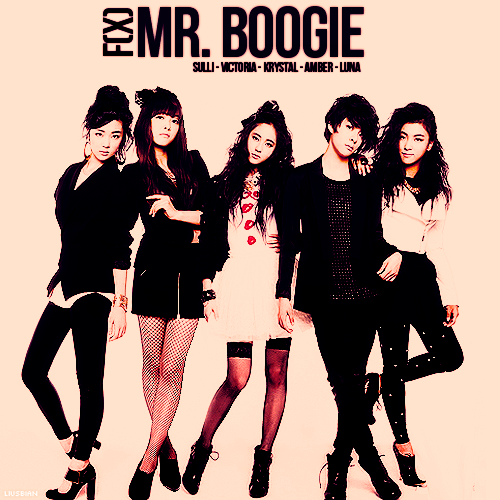 Fantasy Album Repackage » F(x) - Mr. Boogie