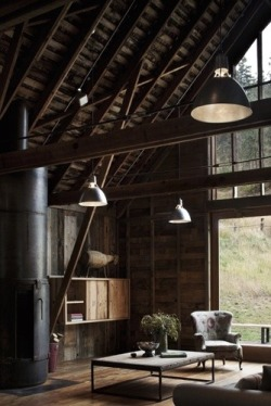 Rustic living, amazing