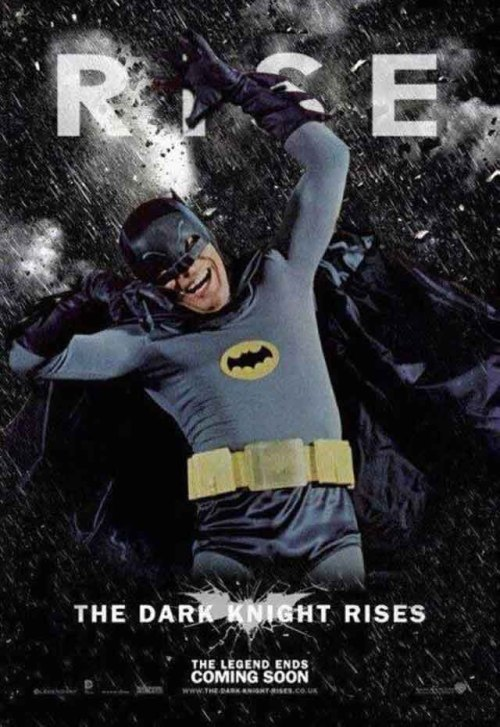 Tonight the Dark Knight rises…