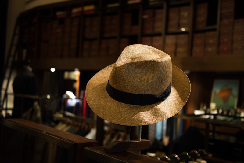 Lock & Co. Hatters - Napoli straw fedora Available in store
