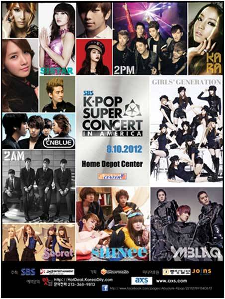 SNSD, 2PM, SHINee, SISTAR, 2AM and More to Go to LA for 'K-Pop Super Concert in America'